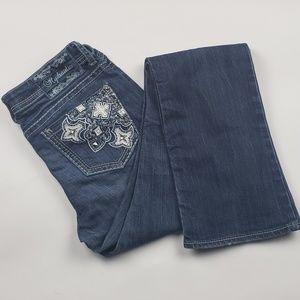 Hydraulic Slim Boot Cut Jeans Size 10